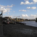 A view of Hammersmith bridge that is a bit more uplifting.