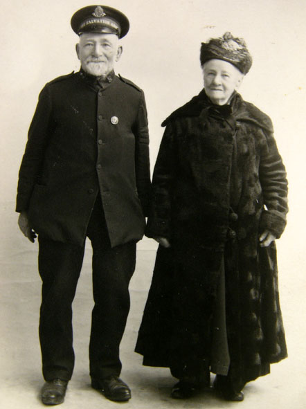 Charles George and mother
